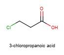 3-chloropropanoic acid 5.0g   #115a
